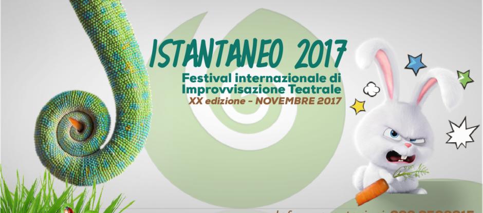 ISTANTANEO 2017 Festival Internazionale Improvvisazione Teatrale dal 17 al 19 Novembre al Cecchi Point IS COMING!